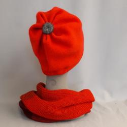 Mütze LUNA, rot
