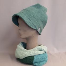 Mütze LUNA, Mineral blau