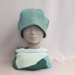 Mütze BRITT, Mineral blau