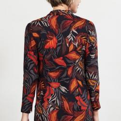 Bluse GRAPHITE, orangerot Größe 34